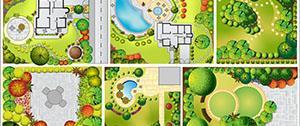 Ontwerp van nieuwe tuin